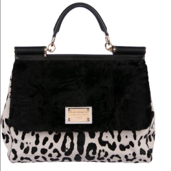 Dolce   Gabbana Bags   Dolcegabbana Miss Sicily Ponyhair Bag New ... 9993207612
